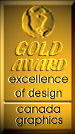 Canada Graphics (excellence of design) Award, 2000-2001